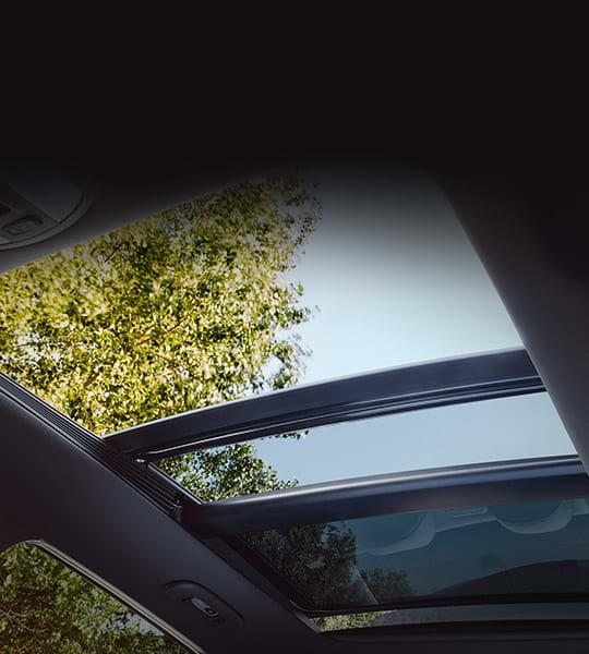 Panoramadak van de Hyundai i30 N