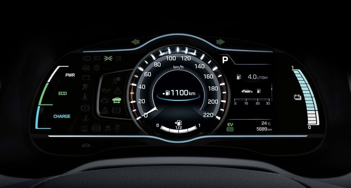 Dashboard van Hyundai Ioniq Plug-In Hybrid