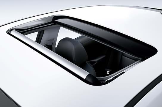 Schuif-/kanteldak van de     Hyundai Ioniq Plug-In Hybrid