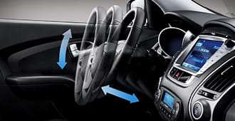 adjustable steering wheel