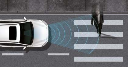 Hyundai Forward Collision-Avoidance Assist (FCA) met voetgangersdetectie