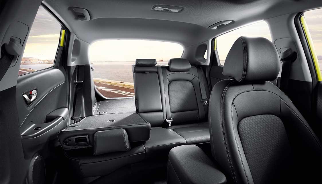Hyundai KONA biedt 361 liter bagageruimte