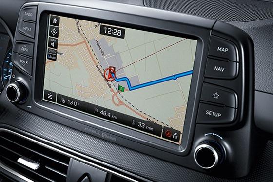Hyundai KONA - navigatie en meer
