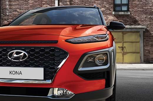 Hyundai KONA grille