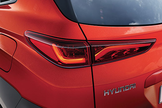 Hyundai KONA ledverlichting