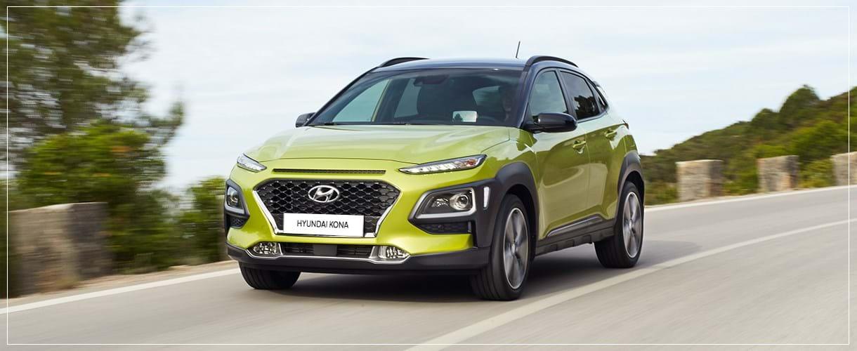 Hyundai Kona foto's