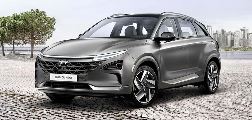 Hyundai NEXO - de waterstofauto van Hyundai