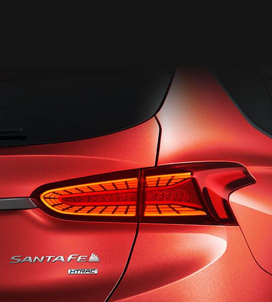 LED-achterlichtunits - Hyundai Santa Fe