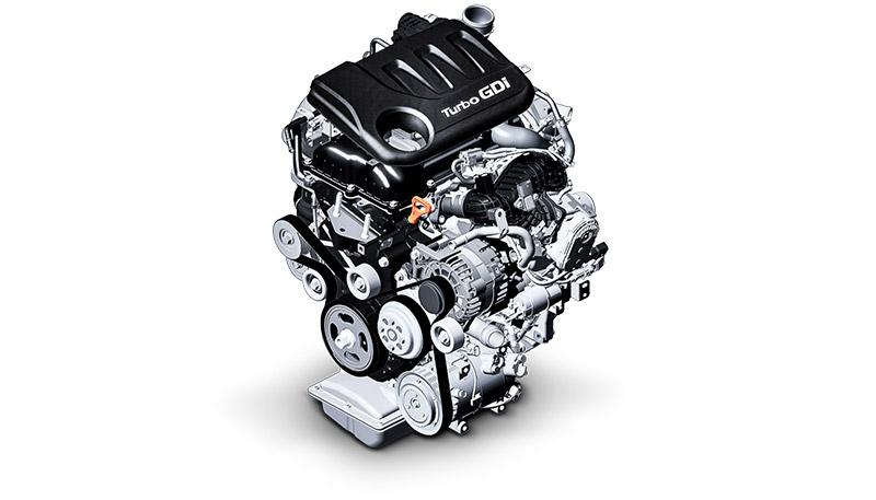 Turbobenzinemotor met 100 pk