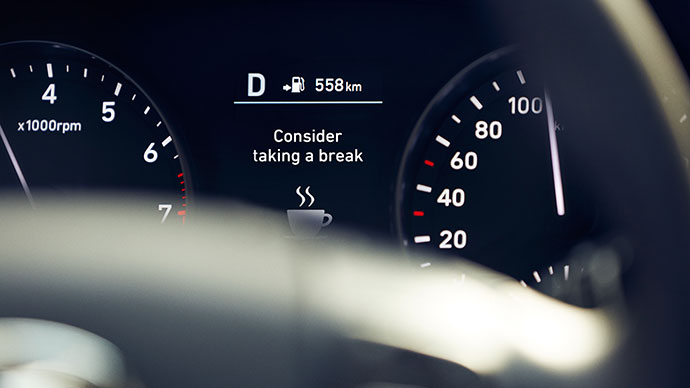 Hyundai i30 5-deurs dashboard